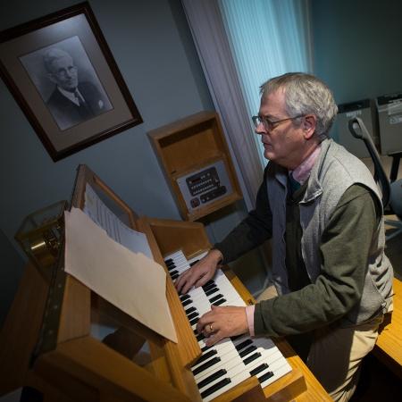 Assistant professor of music Peter Urquhart