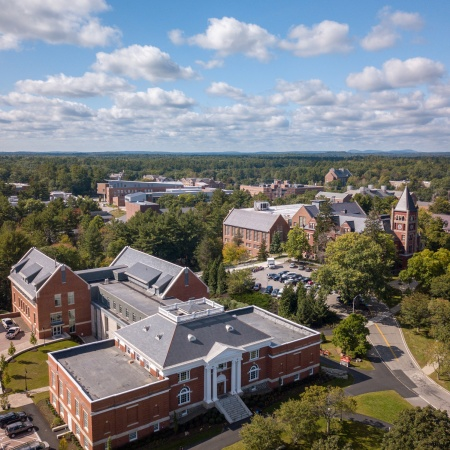 UNH Campus Aerial (Hamilton Smith Hall)