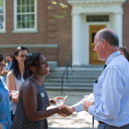 Ice Cream Social with President Dean