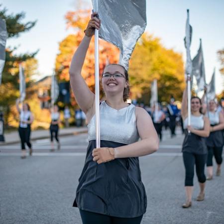 UNH's homecoming parade