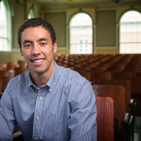 UNH graduate David Sharkey '17