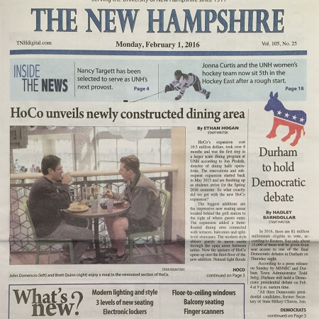 The New Hampshire - February 1, 2016