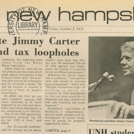 Candidate Jimmy Carter would end tax loopholes - TNH article