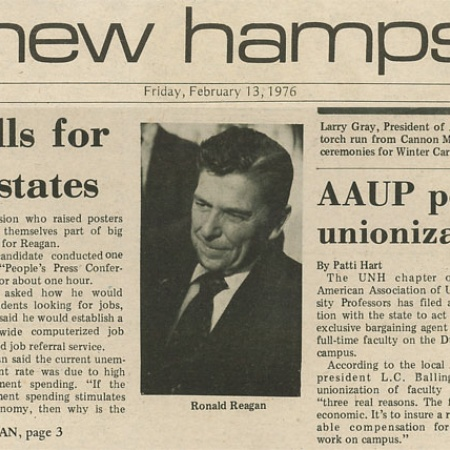 Reagan calls for control for states - TNH article