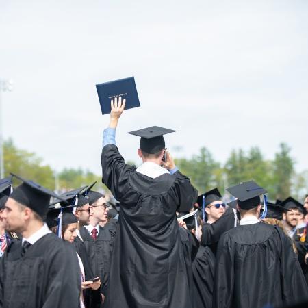 UNH Commencement - Graduates