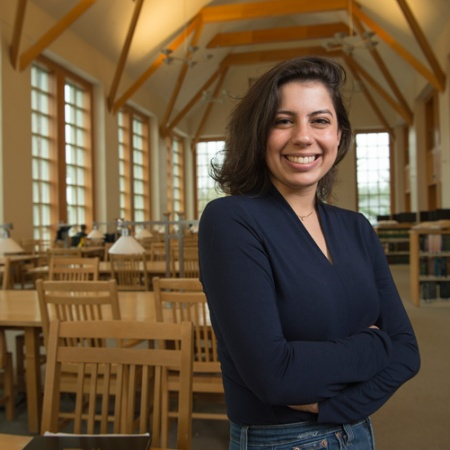 UNH graduate Hannah Vagos '17