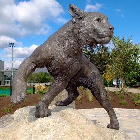 Wildcat Statue