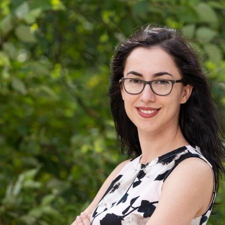 UNH professor Ermira Zifla