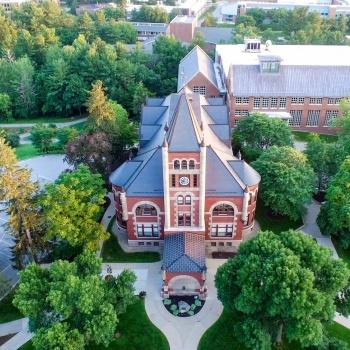 UNH campus aerial view