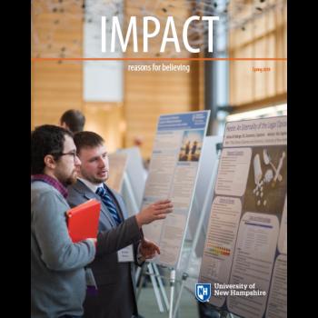 UNH IMPACT Spring 2018 cover