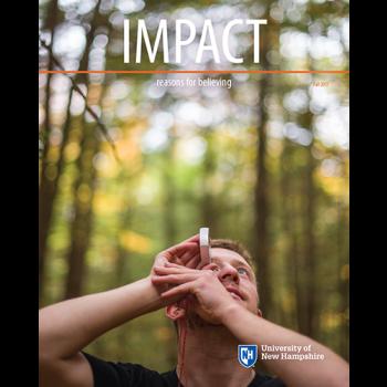 UNH IMPACT Fall 2017 cover