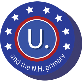 U. and the NH primary button