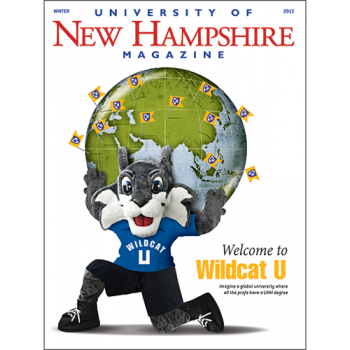UNH Magazine Winter 2015 cover