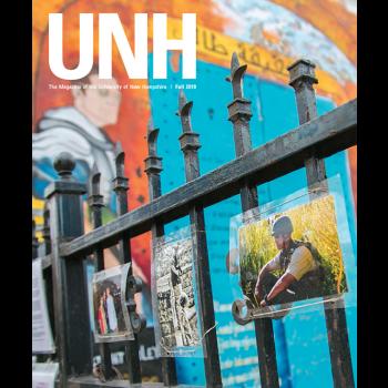 UNH Magazine Fall 2019 cover