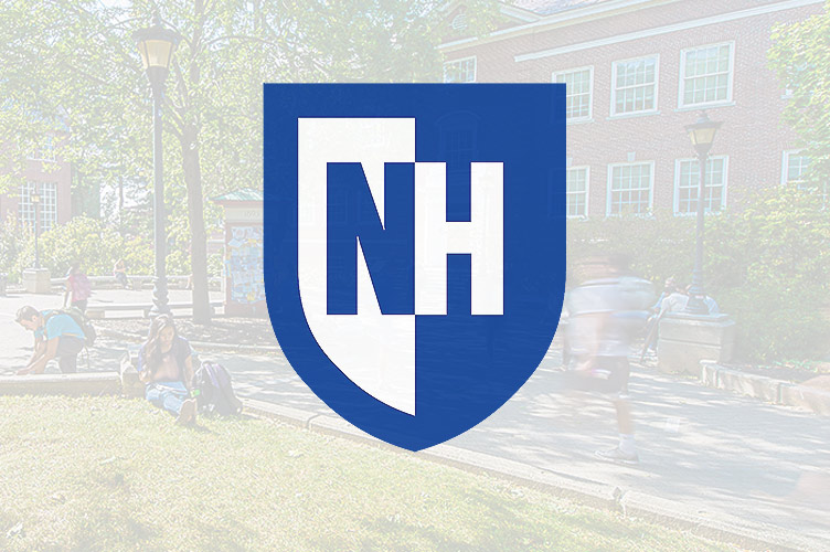 University of New Hampshire welcome sign