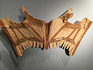 a corset on display at the UNH museum