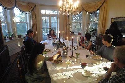 Thanksgiving at the President's house