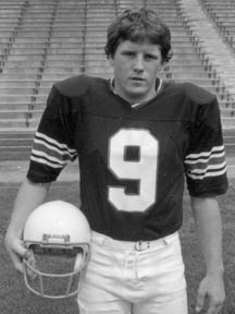 Chip Kelly, UNH football player 1981-1984