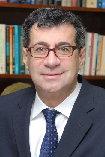David Hajjar '77G '78G, executive vice provost of Weill Medical College of Cornell University