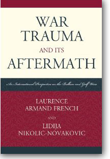 """War Trauma and its Aftermath"" book cover"
