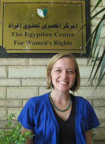 Hannah Lawrence in Cairo