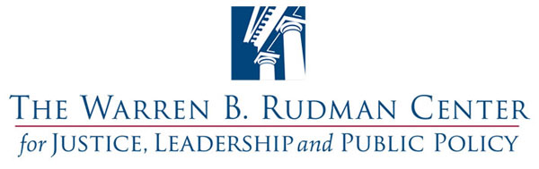The Warren B. Rudman Center for Justice, Leadership and Public Policy logo