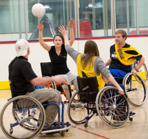 wheelchair handball