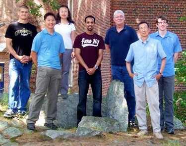 UNH Chemistry Faculty and students