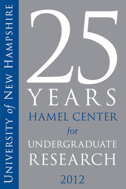 Hamel Center 25 year anniversary graphic UNH