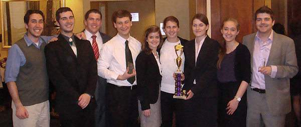 UNH mock trial team 2012