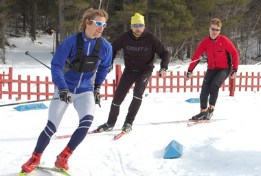 UNH Skiers